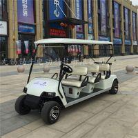 厂家直销贺州6座电动高尔夫球车,工厂接送代步车,公园旅游观光车