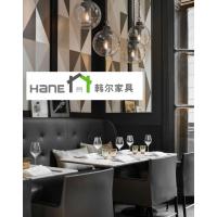 上海咖啡厅工程家具 复古实木桌椅订做 上海韩尔家具厂