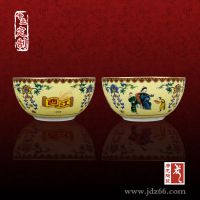 景德镇陶瓷碗,陶瓷碗定制加字价格