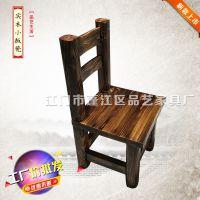 品艺家具板式古典风格儿童用餐椅子PINDD012