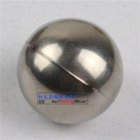 42球实卡40点焊水洗无磁  精品空心圆球 厂家直销 不锈钢装饰配件