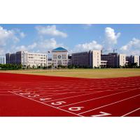 湖北丹江口耐磨复合型塑胶跑道|抗老化PU塑胶场地|学校塑胶跑道施工