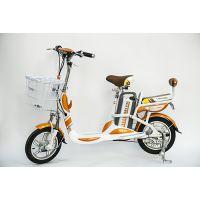 飞锂FLIVE家用小型锂电池电动车 48V14寸助力代步自行车电单车 新品预售款 飞雪