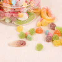 微商爆款零食品 维生素水果QQ软糖 儿童休闲零食水果汁散装糖果