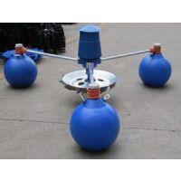 叶轮式增氧机 3个浮球增氧机 1.5KW鱼塘水产养殖专用增氧