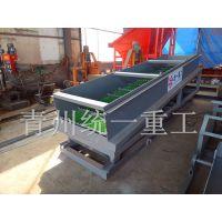 鼓动溜槽选金设备价格,选金溜槽生产厂家—青州统一重工机械有限公司