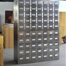 47斗钢制中药柜订做不锈钢中药橱价格 医院门诊整体设计专家锦祥