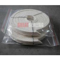 格睿特专业生产亚克力纤维盘根 带硅胶芯盘根