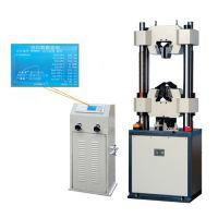 热销WE-300B液晶数显式万能试验机 液晶万能材料试验机