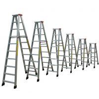 铝合金拉梯有那些品牌 湛江铝合金拉梯 广东创乾梯子厂