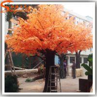 仿真红枫树 仿真植物 餐厅酒店装饰树 人造枫树3米4米