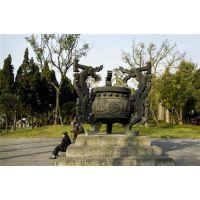 昌宝祥铜雕(在线咨询),浙江圆形平口香炉,广场圆形平口香炉