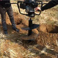 便携式野外作业挖坑机 桃树苗移植栽树机 盆景移植挖坑机 圣通