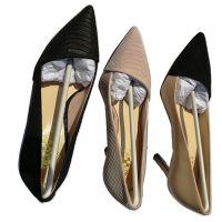 钻石塔DIAMAND TOWER女士蛇纹牛皮高跟密鞋