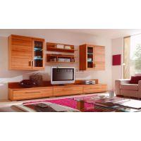 蒂罗迩全屋定制、简约现代客厅家具、板式家具