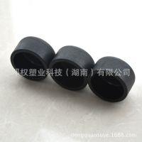 PE地暖管厂家生产 PE地暖管配件管帽供应 黑色HDPE给水管件DN110