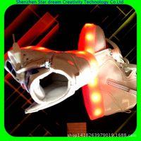 厂家专业生产供应USB充电按键控制七彩LED闪灯发光鞋真皮发童鞋