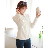 2014春新款罗燕明星同款 韩国东大门长袖百搭打底衫女衬衫PS124