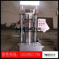 河南液压榨油机厂家 小型流动式芝麻香油机 韩式液压香油机