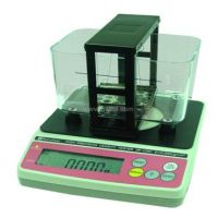 测量永磁材料密度分析天平、永久磁铁密度检测仪器、磁性材料比重天平、群隆仪器