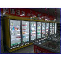 酸奶冷藏展示柜 奶制品保鲜柜定做 冷藏乳制品风幕柜