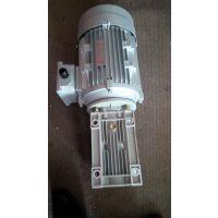 甘肃平凉机械设备用万鑫涡轮减速电机NMRV075/25-YX3-90L-4-1.5KW