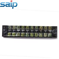 赛邦 通用接线端子 固定式接线板接线排10极端子15A 600V TB-1510