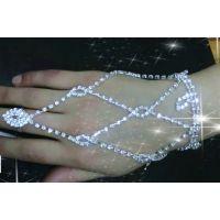 异国情调珠链 水钻镶钻女式手链背链 新娘配饰手链 厂家直销 现货