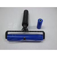 厂家批发硅胶滚筒6寸防静电粘尘滚筒15cm矽胶除尘粘尘滚筒胶轮