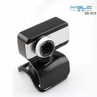工厂批发易歌台式电脑摄像头高清带话筒 笔记本QQ视频头带麦克风