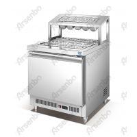雅绅宝 ZS75FA 沙拉芝士柜甜品蛋糕店冷藏柜浇汁柜甜品果酱冷藏柜