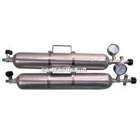 北京精凯达JK20516液化石油气取样器 高压采样钢瓶 气体取样钢瓶 100ML
