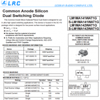 LRC开关二极管 LM1MA142WAT1G
