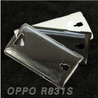 OPPO R831S手机壳素材透明壳水晶钻壳保护套OPPO R831S透明外壳