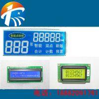 深圳厂家定做供应热水器TN段码LCD液晶屏及LCD系列产品显示屏透明