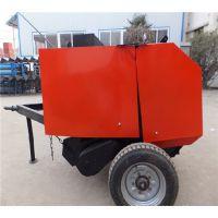 拖拉机带式打捆机 麦秸成捆机 农民专用秸秆打捆富田农机厂家