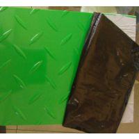厂家直销PVC软板密度1.60 绿色白色一卷50kg