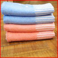 中国结竹纤维毛巾8422一等品 外贸竹炭情侣美容巾厂家爆款批发