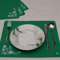 FDA标准的硅胶餐垫 隔热硅胶餐桌垫 防水硅胶西餐垫