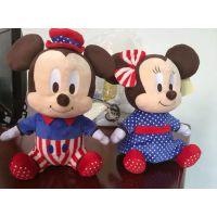 供应迪士尼毛绒玩具米老鼠 米尼米奇外贸实单批量生产东莞悦全玩具