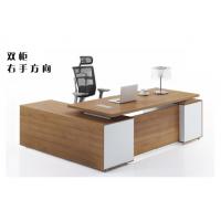 老板桌上海办公家具简约现代实木大班台主管桌经理桌老板办公桌