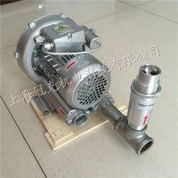 养殖增氧漩涡气泵,鱼缸用小型增氧泵 微型增氧风机 冠克增氧泵厂家