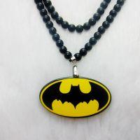迷你型 宝宝亚克力项链 蝙蝠侠吊坠项链 嘻哈项链 儿童款