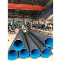 厂家直供:欣腾达HDPE双壁波纹管,DN160 排污管,低压输水管