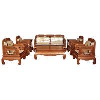 红木客厅家具和谐世家沙发五件套非洲酸枝沙发组合中式实木沙发