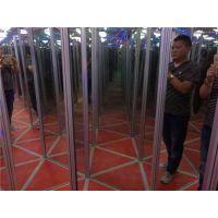 紫晨游乐(图),镜子迷宫游乐设备,镜子迷宫