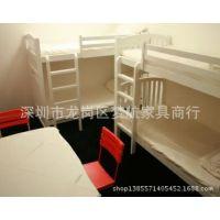 供应专业定做青年旅社上下床 青年旅馆专业稳固实木床
