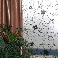 【【厂家批发】】pvc不干胶装饰磨砂玻璃贴膜 彩色窗户玻璃纸