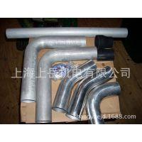 铝合金管件折弯焊接弯头铜法兰蜂腰焊接铝管弯头焊接加工OEM外贸