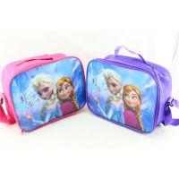 现货FROZEN冰雪奇缘午餐包冰包斜跨儿童单肩包书包饭盒便当袋